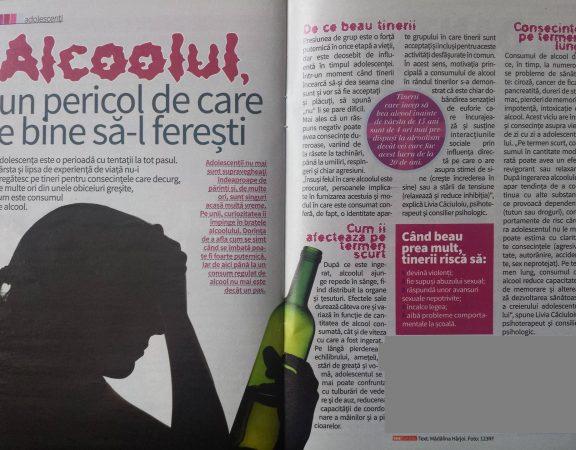 adolescentii si alcoolul